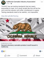 Two Recalls Hit California Cannabis Market