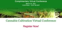 Mark Your Calendars: The Cannabis Cultivation Virtual Conference Returns